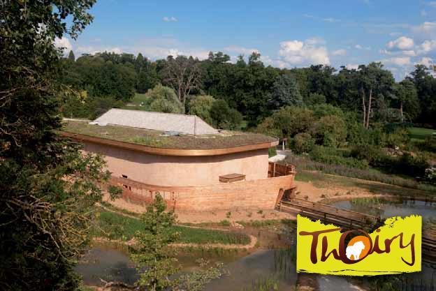 Aménagement du zoo de Thoiry